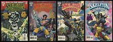 Skeleton Warriors Comic set 1-2-3-4 Baron Dark Aracula Dagger Prince Lightstar