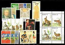 Ireland 1980 Year Set (19 stamps + sheet) - MNH