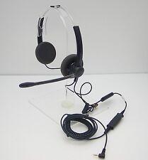 5-pack SP12-QD 2.5mm Headset for Cisco 501 509 525 921 941 Polycom 320 321 331