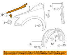 TOYOTA OEM 15-16 Camry Fender-Protector/Bracket/Support Right 5382506130