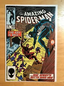 THE AMAZING SPIDER-MAN #265 (1ST APPEARANCE OF SILVER SABLE ).