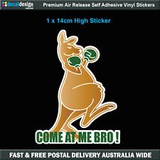Come At Me Bro Boxing Kangaroo Decal bumper sticker car bike ute window #C005