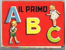 IL PRIMO ABC - LIBRO ANTICO POP-UP IMMAGINI IN RILIEVO - EDITRICE PICCOLI MILANO