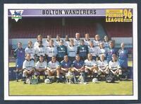 MERLIN-1996-PREMIER LEAGUE 96- #508-BOLTON WANDERERS TEAM PHOTO