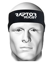 New Raptor Rugby Mini/Junior Neoprene Ear Protector Headband/Scrum Cap/Headguard