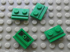 LEGO green plates with door rail 32028 / 7133 7898 7264 7166 7595 7126 7184 7683