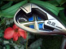 Polished Callaway X-22 Lob Wedge 60*  LW Golf Club Uniflex Steel Beauty