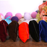 10Pcs 10x12cm Velvet Jewelry Pouches Wedding Party Favors Gift Bags w/Drawstring