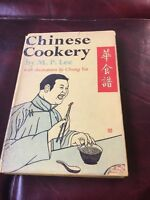 Chinese Cookery M P Lee 1959 Hardback