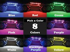 Roller Skates 6 LED Lights 12v Battery w/ 3 Button & off/on Switch - Multi Color