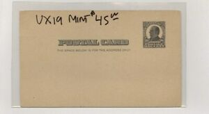 US - Mint Postal Stationery Lot # 83