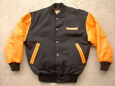 Pac-Man Burk's Bay Letterman's Jacket size: Small Wool & Leather