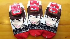 LEE MIN HO  SOCKS same 3 pairs - 이민호 korean drama faith gangnam HEIRS