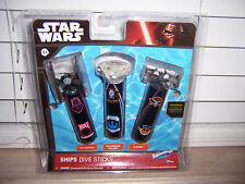 Star Wars Ships Dive Sticks Tie Fighter Millennium Falcon X-Wing Pool Toys