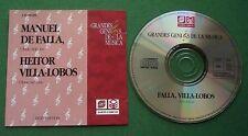 De Falla & Villa-Lobos Obras Selectas RSO Ljubljana Nurnberger Symphoniker CD