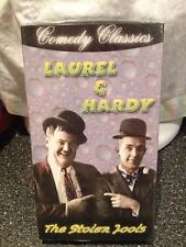 Laurel & Hardy Comedy Classics The Stolen Jools VHS Tape Brand New Sealed RARE