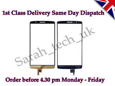 New LG G3 D850 D851 D855 Touch Screen Digitizer Front Glass Lens Gold