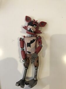"FIVE NIGHTS AT FREDDY'S Nightmare Foxy 5"" ACTION FIGURE FNAF"
