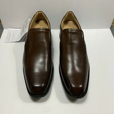 Mr. Cat Size 12.5 New Brown Leather Hand Men's Shoes made in Brazil