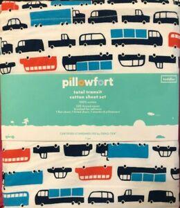Pillowfort Total Transit Toddler Size Cotton Sheet Set