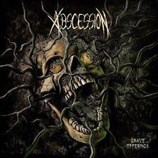 "ABSCESSION -12"" LP- Grave Offerings BLACK VINYL  (pure Swedeath Mayhem)"