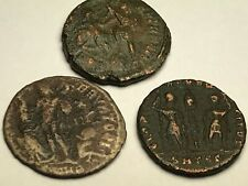 New ListingAncient Auth. 3 Rare$ Roman Coins; 307- 361 Ad. Jupiter , Spearing & 2 Legion
