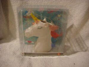 Unicorn head ceramic  pen holder
