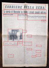 WW2-FOTO CON IL DUCE ED ANTONESCU DOPO UN COLLOQUIO- DEL 08-07-1943 N.1819