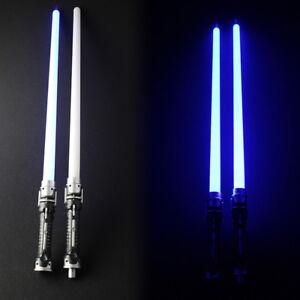 2PCS Star Wars Lightsaber Led Flashing Light Sword Toys Cosplay Weapons