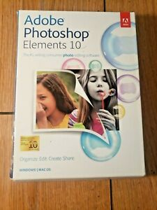 Adobe Photoshop Elements 10 for PC, Mac