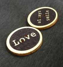 25mm Wooden Buttons Pack Of 50
