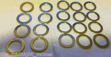 "(20)15/32"" Toggle Switch Washer, Nickel plated. Guitar, foot switch. LOT OF 20"