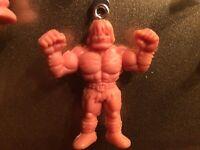 M.U.S.C.L.E. Men Figure 👻🧲 Keychain Necklace Zipper Pull Magnet Handcrafted