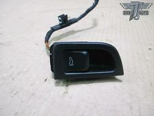 08-16 AUDI A5 RS5 S5 FRONT LEFT DRIVER SIDE TRUNK LID OPEN SWITCH W/ TRIM OEM