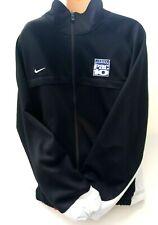 Nike Mens Jacket White Black Size XXL Athletic Full Zip Pac 10 Track Jacket