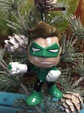 "Custom GREEN LANTERN 3"" Christmas Holiday Ornament OOAK Upcycled DC Comics Decor"