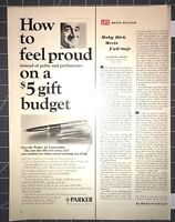 Life Magazine Ad PARKER PENS Master of the world's most wanted pens 1965 AD