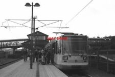 PHOTO  1994 SHEFFIELD  'SUPERTRAM' AT MEADOWHALL IN 1994 PART OF SHEFFIELD'S SO-
