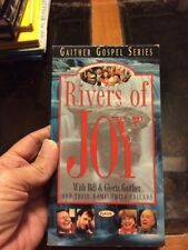 1998 Gaither Evangelio serie Ríos de alegría Video-Vhs