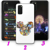DISNEY 2 CARTOON MICKEY SAMSUNG A51 A71 S10 Lite S20 Plus Ultra phone Case Cover