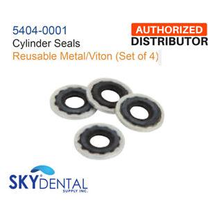 Set of 4 Belmed Cylinder Seals 5404-0001 Yoke Replacement Part Reusable Metal