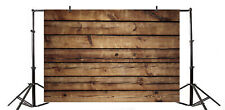 10x8ft Backdrop Brown Wood Plank Texture Background Photography Prop Show Studio