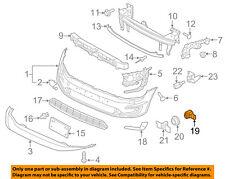 VW VOLKSWAGEN OEM 16-17 Passat Front Bumper-Position Sensor 5Q0919297BGRU