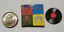 "Dollhouse Miniature Record Album 1"" 1/12 scale Barbie Queen Mercury Hot Space"