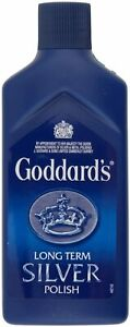 Goddards Silver Jewellery Polish, Cloth Cleaner Cleans Long Term Protects Shine