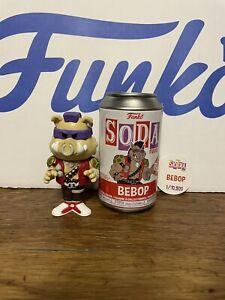 Bebop Teenage Mutant Ninja Turtles Funko Soda Common