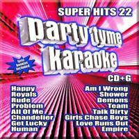 PARTY TYME KARAOKE - SUPER HITS 22 - New CD - Damaged Case
