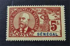 nystamps French Senegal Stamp # 72 Mint OG H $75