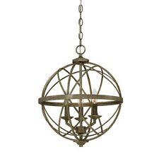 Millennium Lighting Lakewood 3 Light Pendant, Antique Silver - 2283-AS