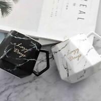 Marble Texture Mug Cup Geometric Ceramic Coffee Tea Drinking Cup Home Decor